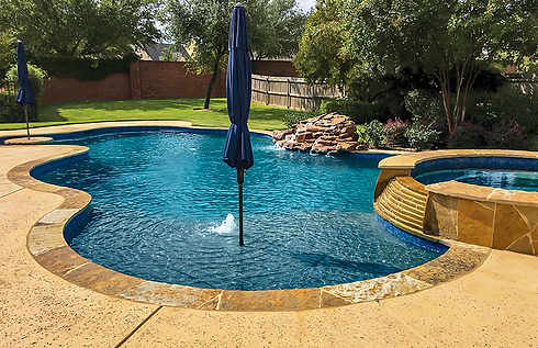 Tanning Ledge Pool and Sun Shelf Picture