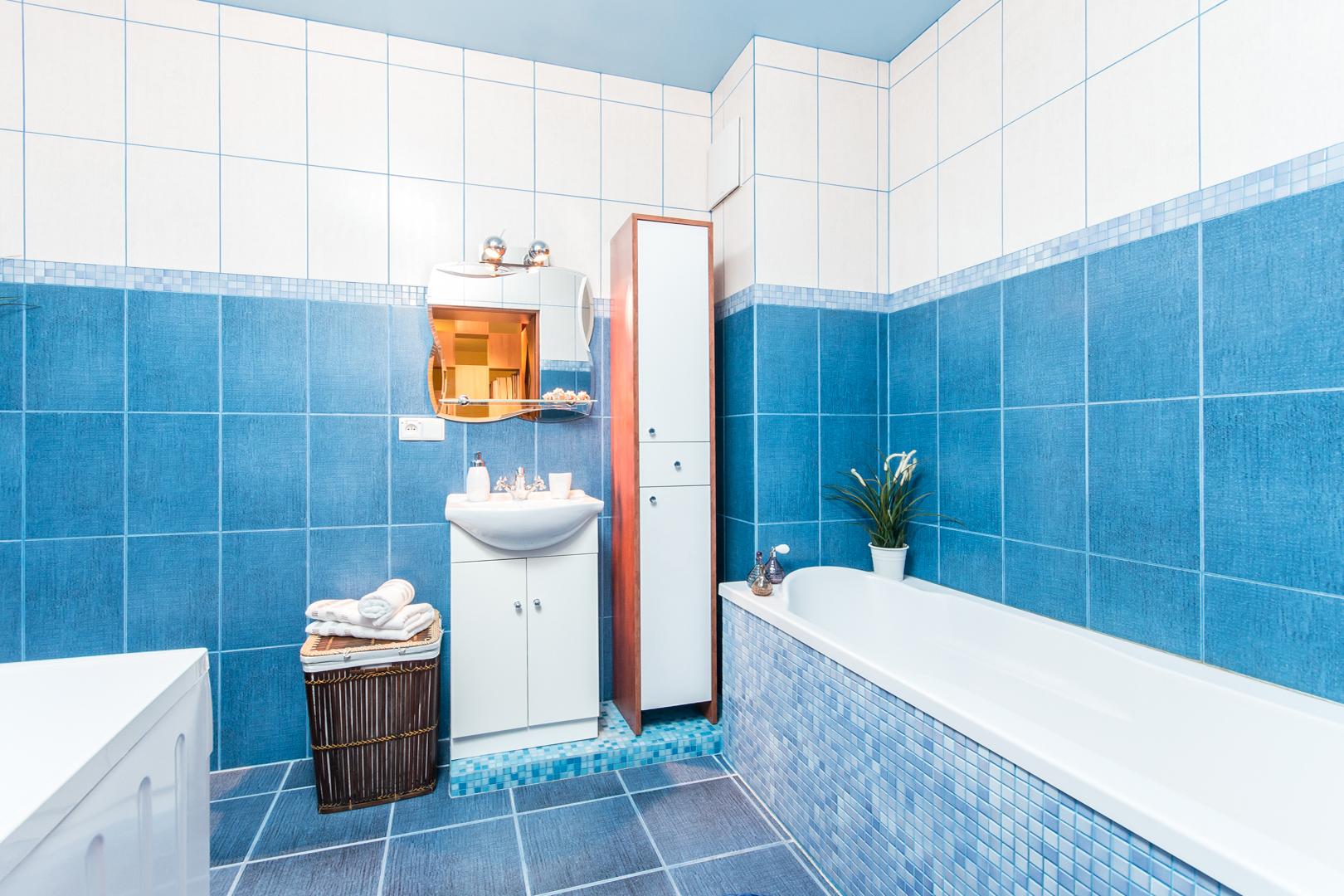łazienka po zmianach