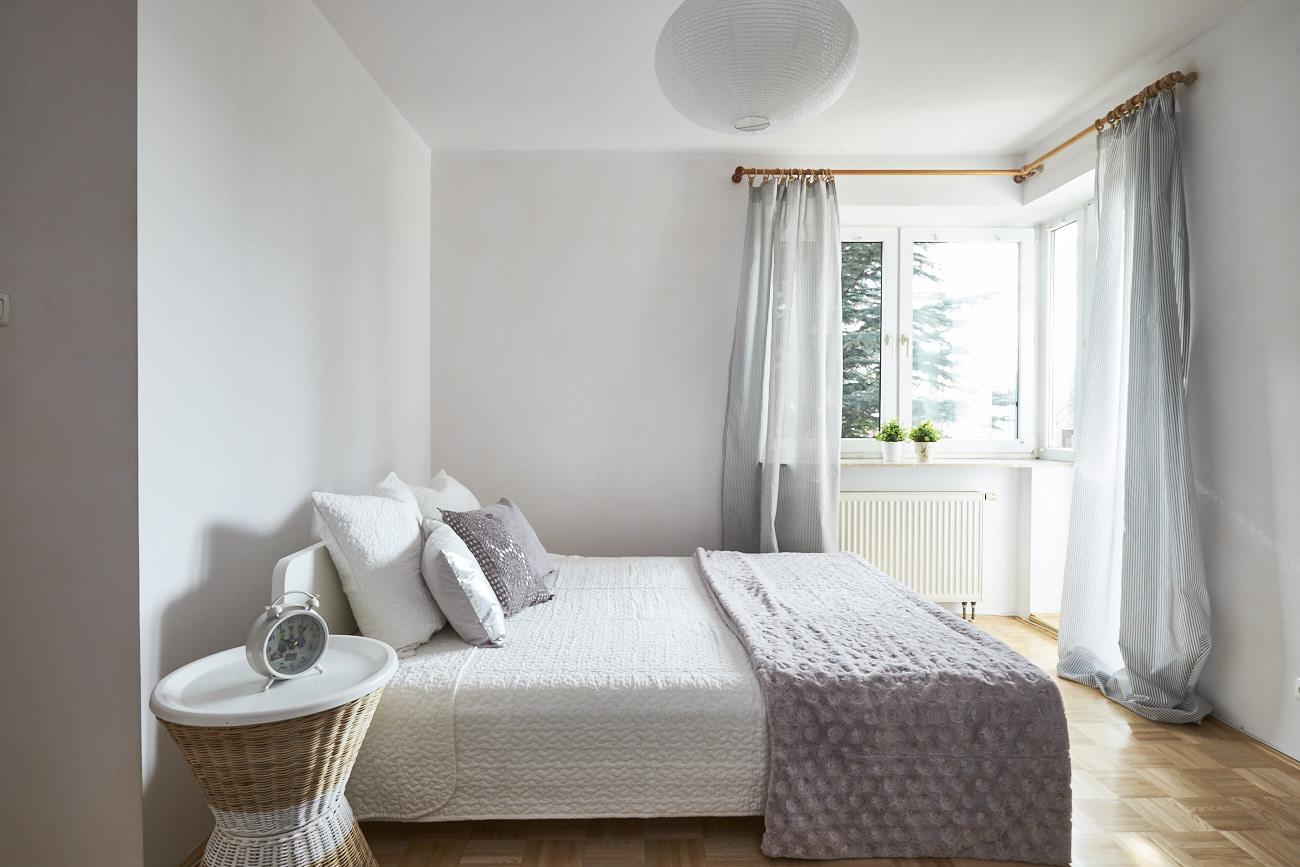 Sypialnia główna po aranżacji
