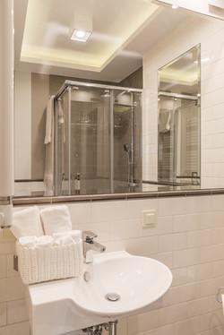 łazienka po przebudowie
