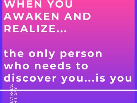 WHEN YOU AWAKEN...