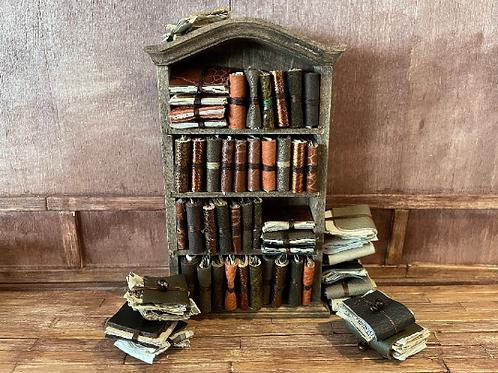 10 x Miniature Leather Folios