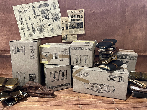 12 x DIY Miniature Boxes & Packages