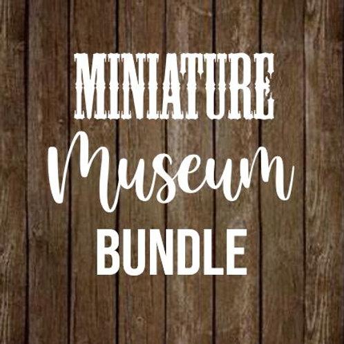 DIY Miniature Museum Pack