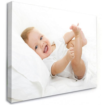 Canvas Baby Ginger Red Head Print County Down