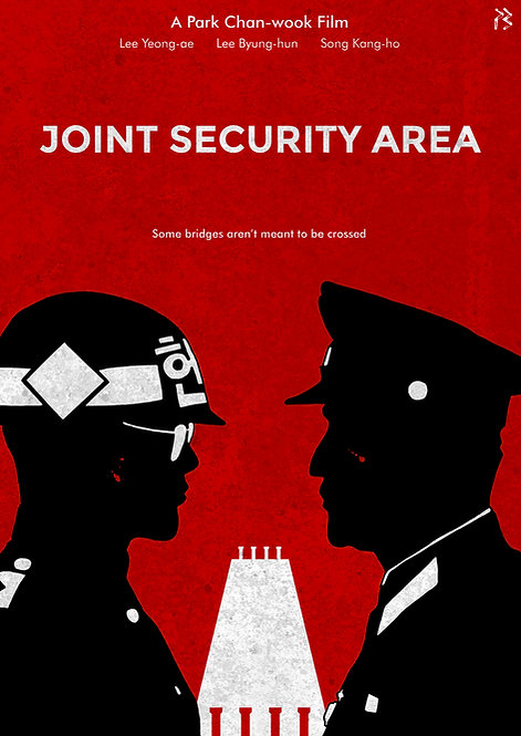 LIMITED EDITION – Joint Security Area (JSA) poster