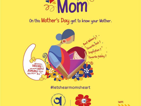 Heart to Heart With Mom On Mother's Day