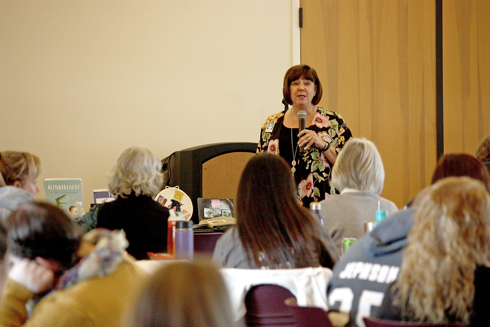 Conscious Discipline Master Trainer Kim Hughes speaks to educators.