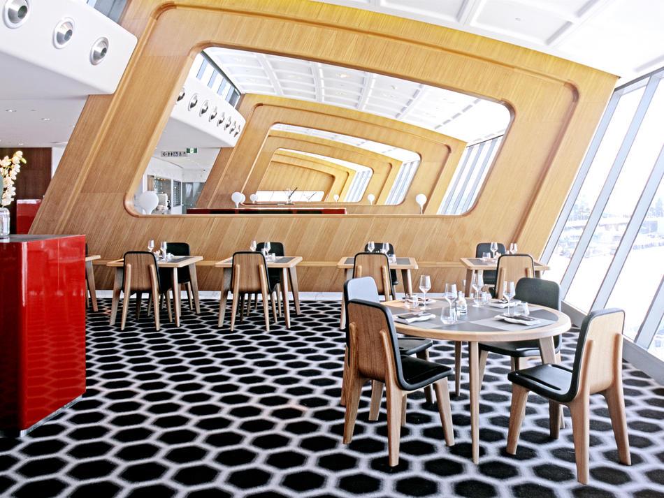Quantas First Class Lounge