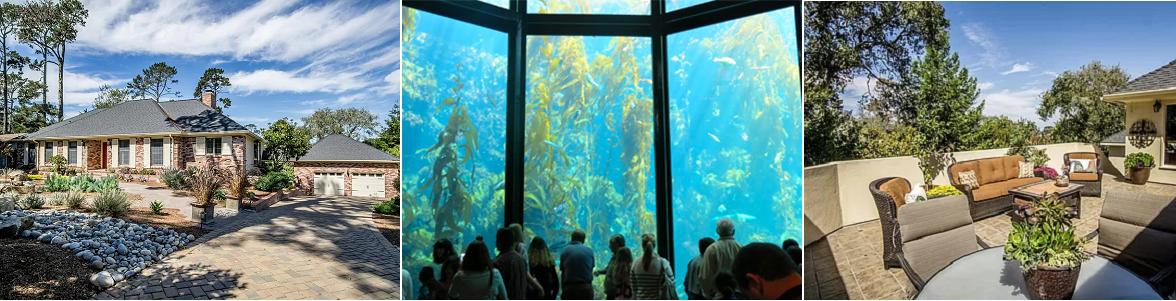 Monterey Getaway & Aquarium Passes