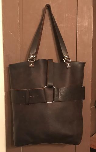 Belted Catch-All Shoulder Bag