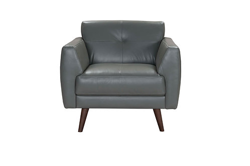 Adda Chair Gray Leather