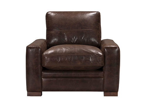Modena Chair Vintage Espresso Top Grain Leather