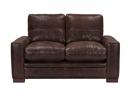 Modena Loveseat Vintage Espresso Top Grain Leather