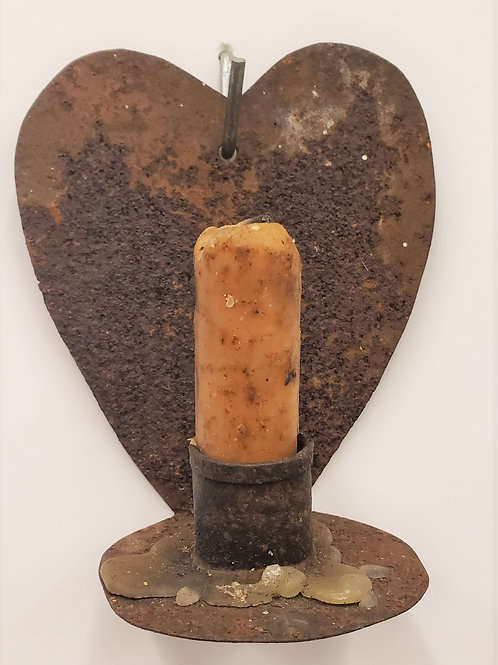 Heart Shaped Sconce