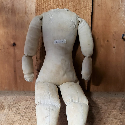 Early Rag Doll Body with Darning