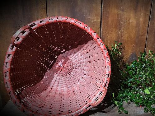 Large Red Apple Basket