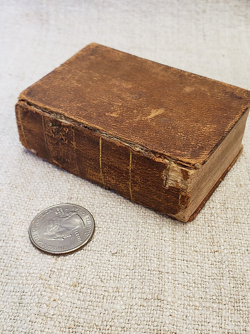 Small Leather Hymn Book 1845