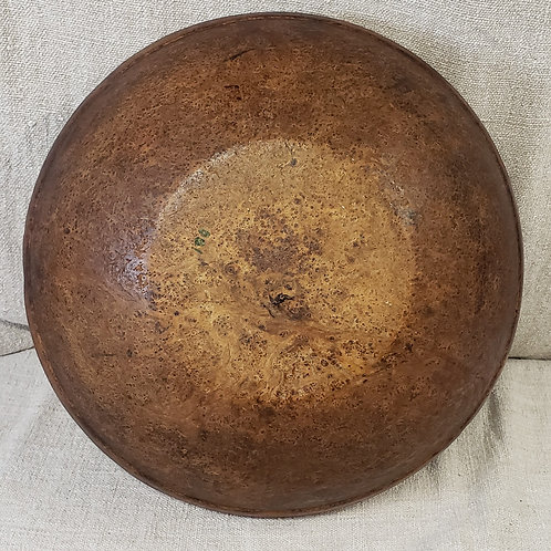 Perfect Antique Burl Bowl