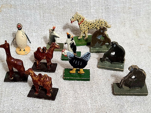 A Group of 11 Smaller Animals