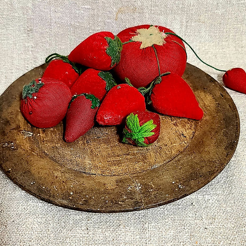 Group of 10 Sewing Strawberries