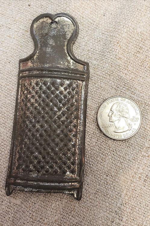 Miniature Tin Grater