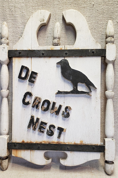 Antique Inn Sign Crows Nest