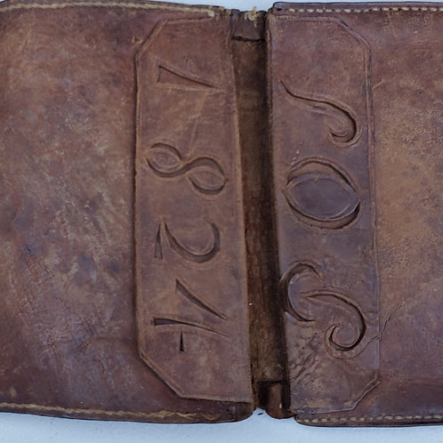 Dated Leather Wallet