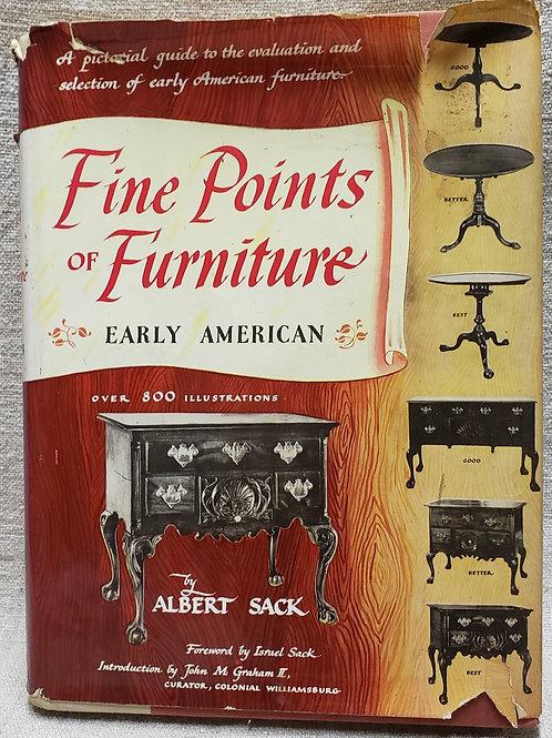 Fine Points of Furniture  Sacks