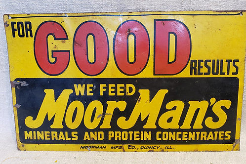 Vintage Feed Sign