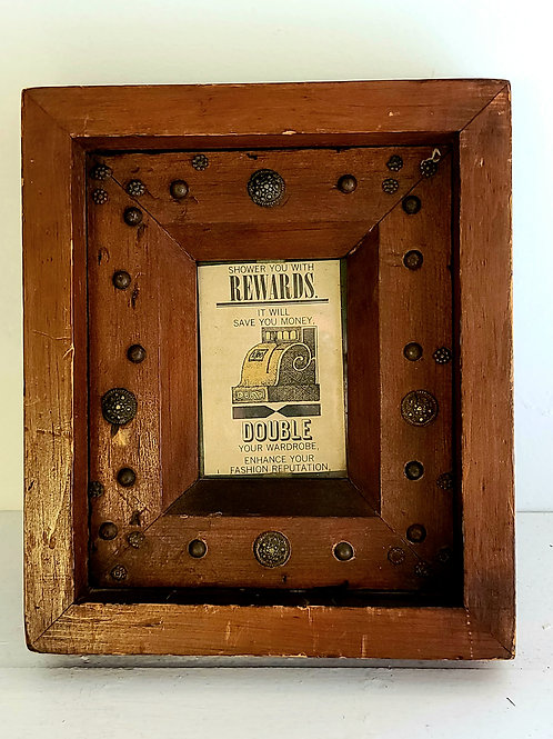 Decorated Pine Frame