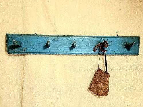 Best Blue Painted Peg Rail