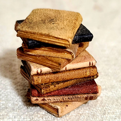 Miniature Doll Stack of Books
