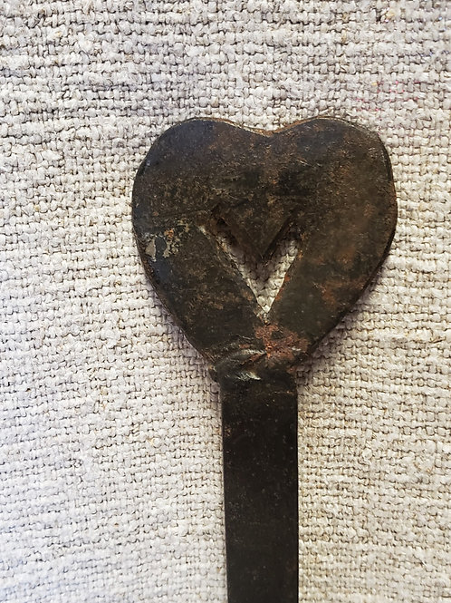 Wrought Iron Skimmer with Heart