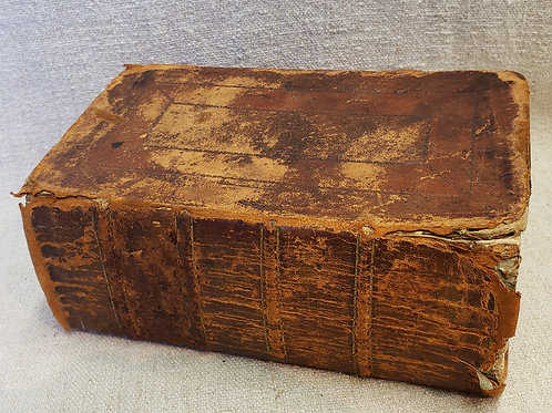 Thick Leather Bible 1819