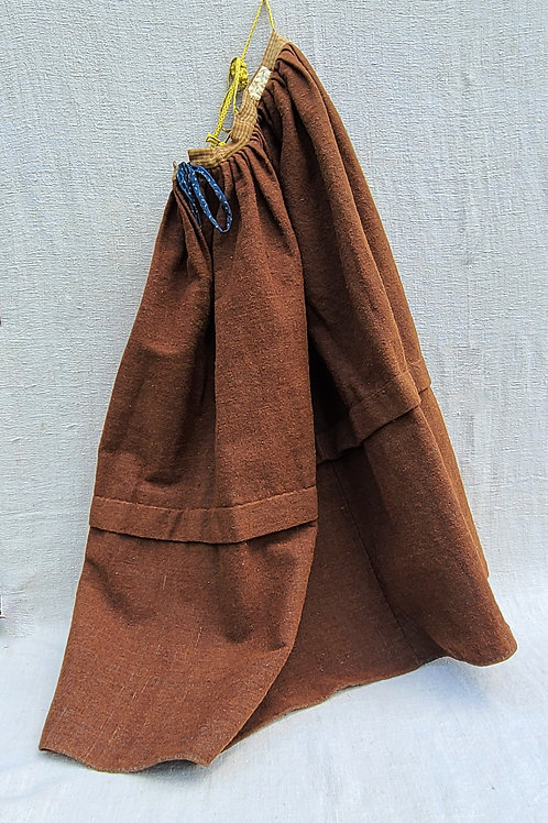 Woman's Antique Wool Petticoat