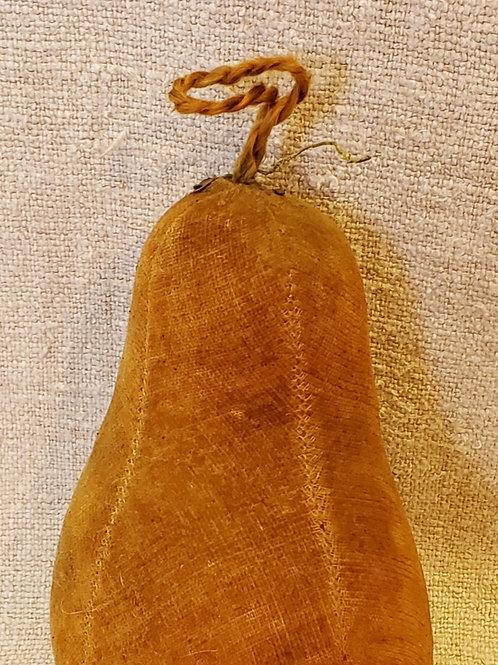 Antique Velvet Pear with Silk Stem