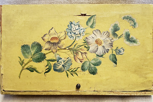 Yellow Floral Wallpaper Box