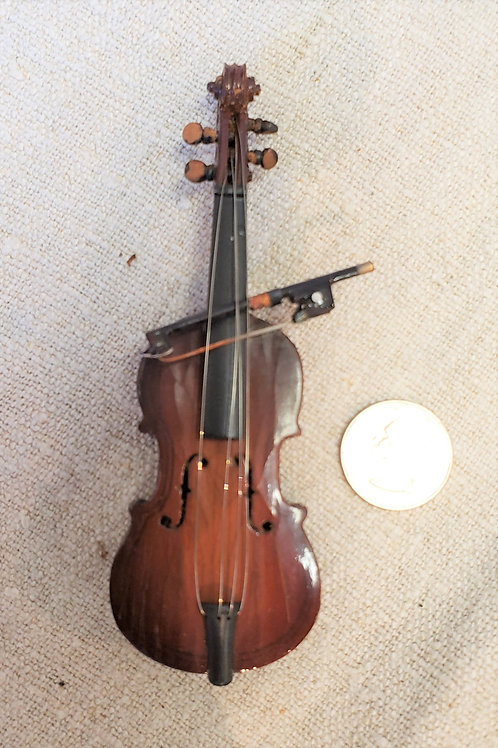 Doll Size Cello and Bow