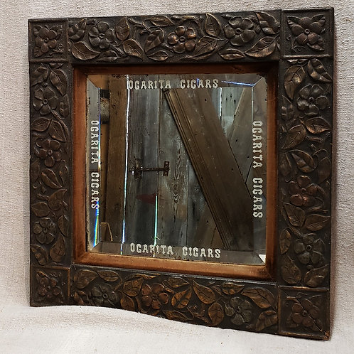 Antique Cigar Store Mirror