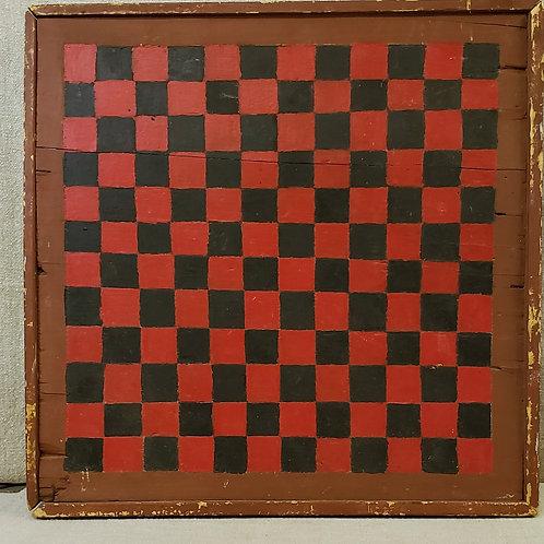 Three Color Antique Game Board