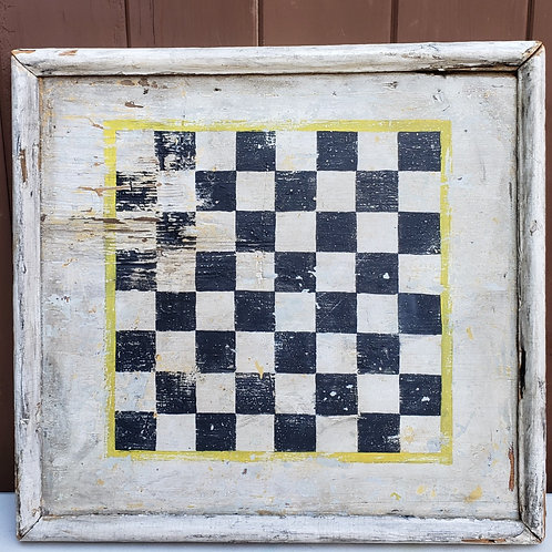 Antique Black and White Gameboard