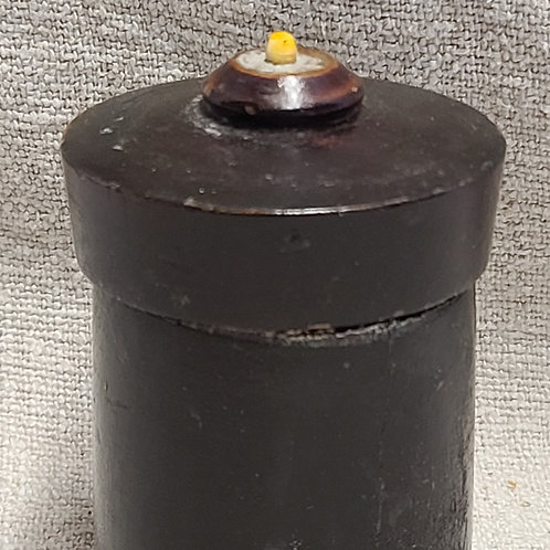 Antique Black Covered Spice