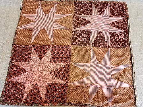 Star Pattern Doll Quilt