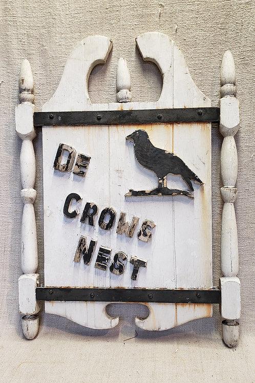 Antique Inn Sign Crows Nest