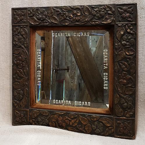 Antique Cigar Mirror