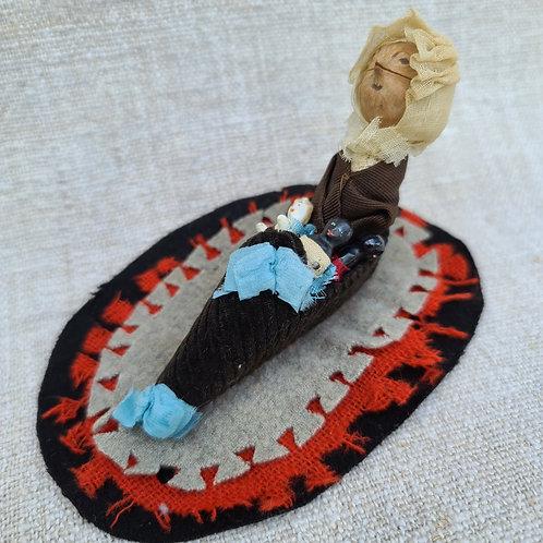 Old Lady in a Shoe Penwipe