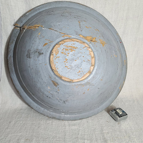 Large Blue 18th C Beehive Bowl