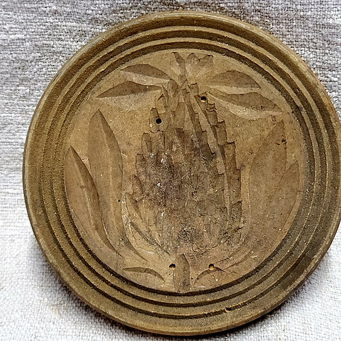 Antique Pineapple Butter Stamp