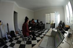 Recording Inonde with Alex Augé - Perpignan